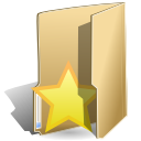 bookmark, Folder BurlyWood icon
