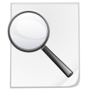 Find, search, File WhiteSmoke icon