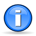 Info, Alert, messagebox, Information CornflowerBlue icon