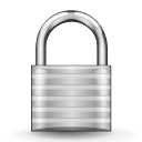 security, Lock, padlock LightGray icon