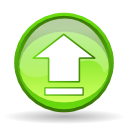 Eject, Arrow, Up, player GreenYellow icon
