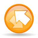 tabs, Reload, swap, All Orange icon