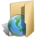 network, package BurlyWood icon