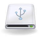 Removable-usb GhostWhite icon