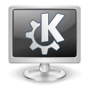screen, K, monitor DarkSlateGray icon