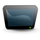 Tv DarkSlateGray icon