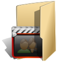 Movies, Folder BurlyWood icon