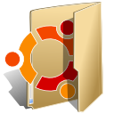 Folder, Ubuntu BurlyWood icon