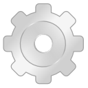 Gear LightGray icon