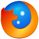 mozilla, Firefox, Browser DodgerBlue icon