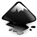 Inkscape DarkSlateGray icon