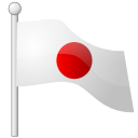 japan, flag WhiteSmoke icon