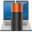 Battery, Laptop DarkSlateGray icon