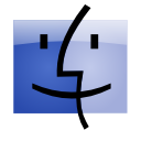 mac, Finder LightSteelBlue icon