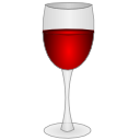 drink, Alcohol, glass, wine, food Gainsboro icon