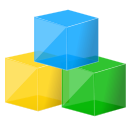 Modules, Blocks Green icon