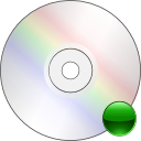 mount, Cdrom Gainsboro icon