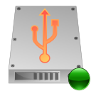 mount, Usb, Hdd Silver icon