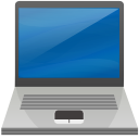 Laptop SteelBlue icon