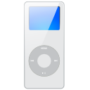 Apple, mp3 player, ipod Lavender icon