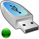 usbpendrive, mount Silver icon