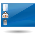 Desktop SteelBlue icon