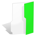 Folder, green LimeGreen icon
