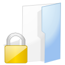 locked, Folder Lavender icon