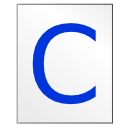 C, Source WhiteSmoke icon