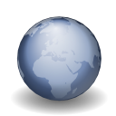 world, internet, earth, Browser LightSteelBlue icon