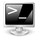 terminal DarkGray icon