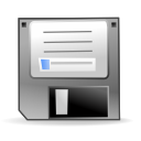 mount, 3floppy DarkGray icon