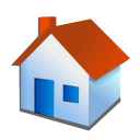 house, Home Firebrick icon