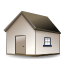 Home, house DimGray icon