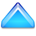 1uparrow DeepSkyBlue icon