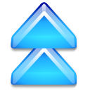 2uparrow DeepSkyBlue icon