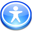 user, Access LightSkyBlue icon