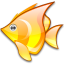 Babelfish Black icon