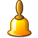 bell Black icon