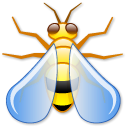 wasp, bug Black icon