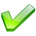 ok, good, yes, Accept, Check, checkmark, check mark, green Black icon