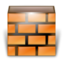 Firewall SandyBrown icon