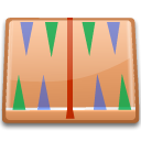 kbackgammon BurlyWood icon