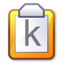 paste, document, Clipboard Lavender icon