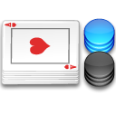 chips, Cards, poker WhiteSmoke icon