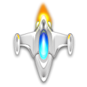 Kspaceduel, spaceship Black icon