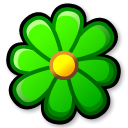 Flower, icq LimeGreen icon