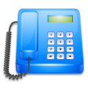 Linphone DodgerBlue icon