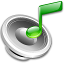 Note, speaker, Lsongs Black icon