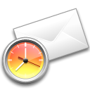 Mailreminder Black icon